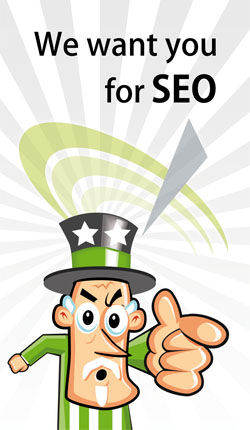 We want you for SEO