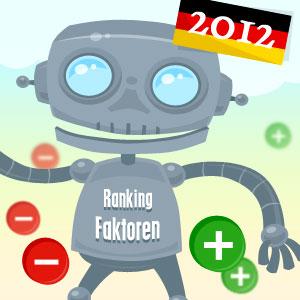 Ranking Faktoren 2012
