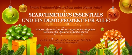 Searchmetrics Essentials Weihnachts-Special