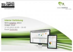 Vortrag SEO Campixx 2013: Holger Etzel - Interne Verlinkung