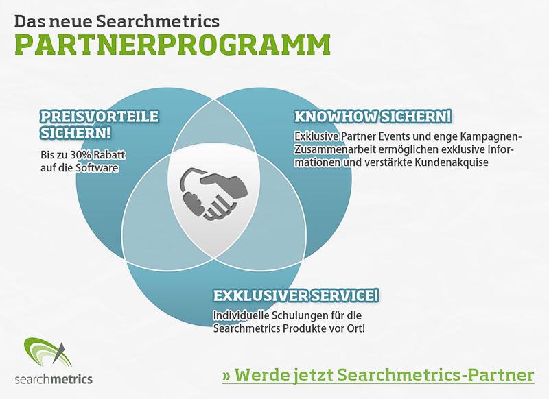 Searchmetrics Partnerprogramm Übersicht