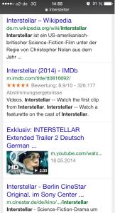 interstallar - mobile URLs