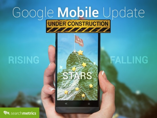 Gewinner-Verlierer: Google Mobile Update - under construction