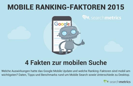 Teaser Infografik Mobile Ranking-Faktoren 2015