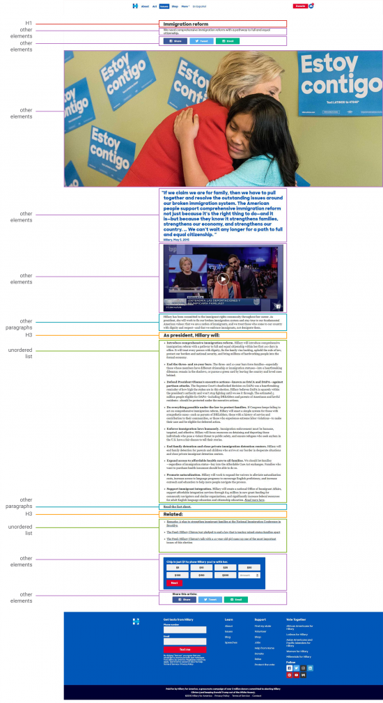 Screenshot Clinton Immigration