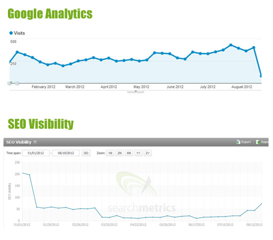 Analytics and SEO Visibility