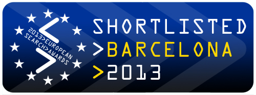 European Search Award Shortlist Badge