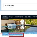 Expedia.com - Invisible Sitewide Footer Keyword Link