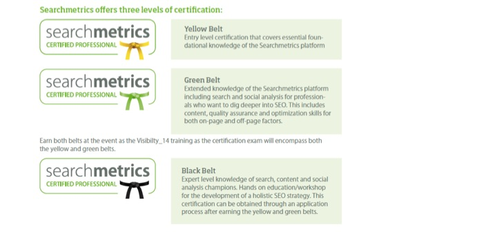 Searchmetrics Certified Professionals