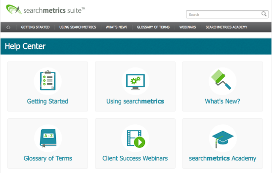 Searchmetrics-Help-Center