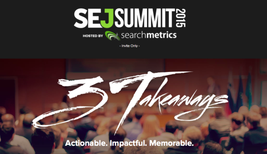 SEJ Summit