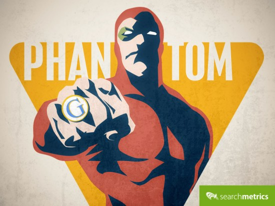 Google Phantom Update - Searchmetrics