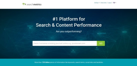 Home - Searchmetrics Research Cloud