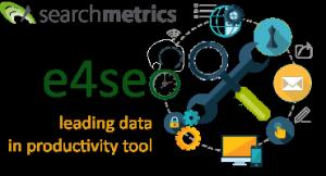 e4seo logo - searchmetrics