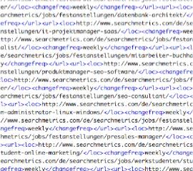 XML-Sitemaps: Lesenswert für den Robot