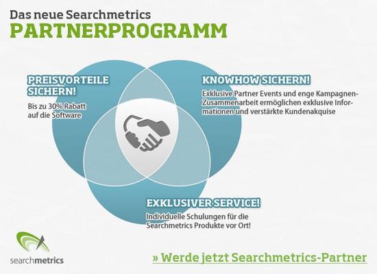 Searchmetrics Partnerprogramm