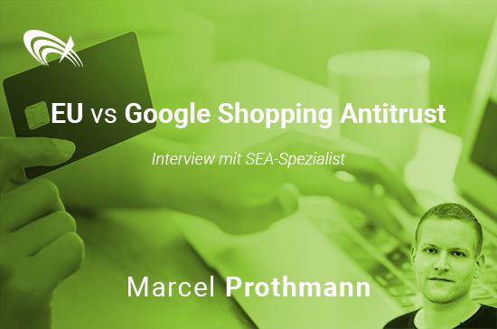 Google Shopping Interview Marcel Prothmann