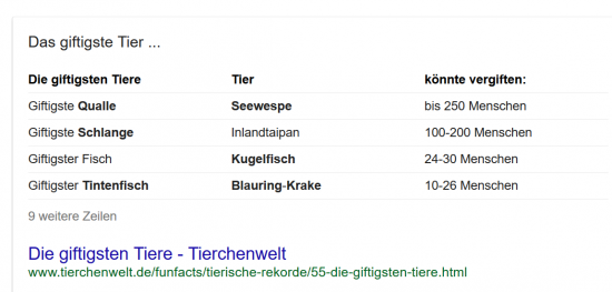 giftige-tiere-featured-snippet-tabelle