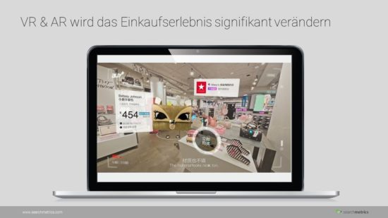 E-Commerce - AR & VR