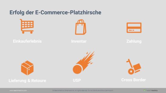 E-Commerce - Erfolg der Platzhirsche