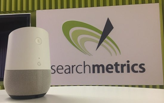 Google-Home-Survey-Blog, Searchmetrics