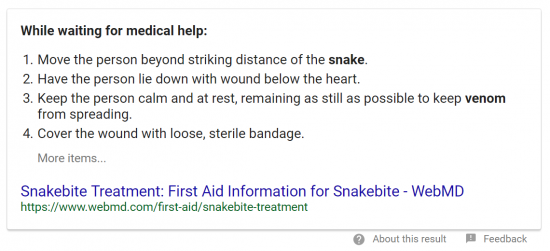 How-do-I-treat-a-snake-bite-at-home