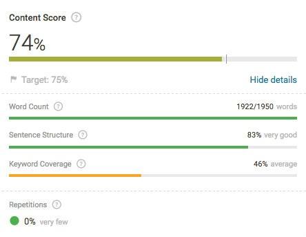 SCE-Content-Score-Example