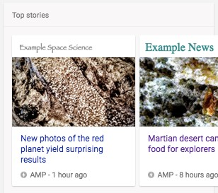 Google News Optimization Mistakes - Top Stories