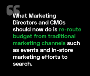 What Marketing and CMOs should do now